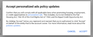 targeting update for housing industry google ads